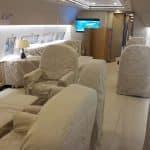 aménagement de cabine d'avion