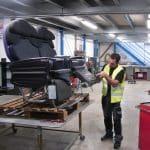 repair aircraft seats