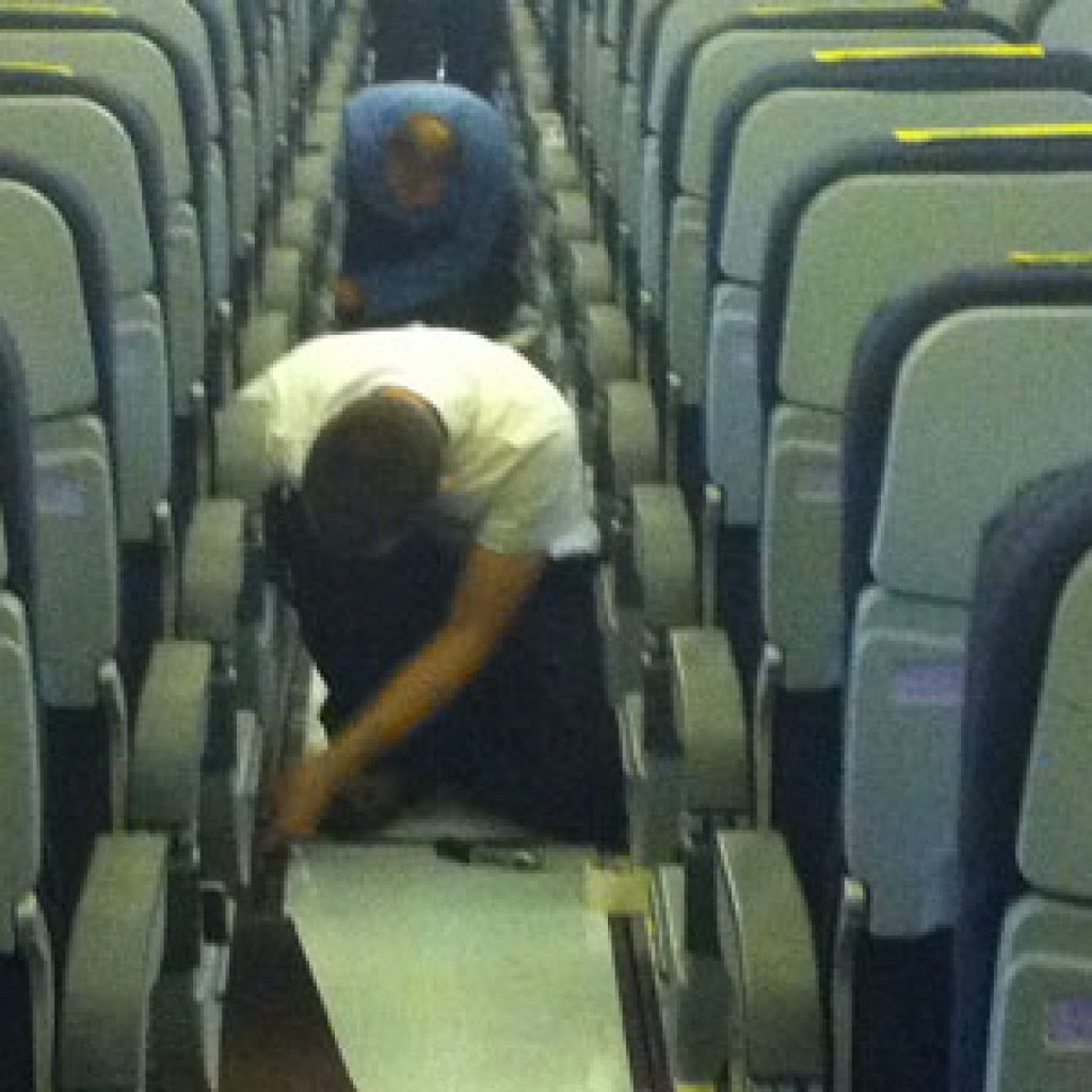 Refurbishment Aircraft Interior service- PART 145 rating C6