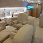 aménagement intérieur dans l'aéronautique